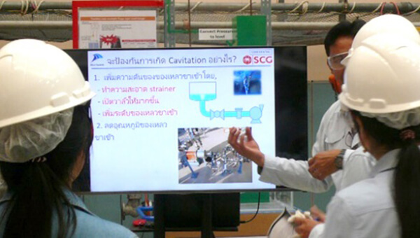 Training at OETC in Thailand