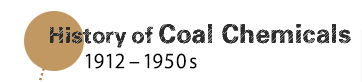 History of Coal Chemicals (1912 - 1950s)