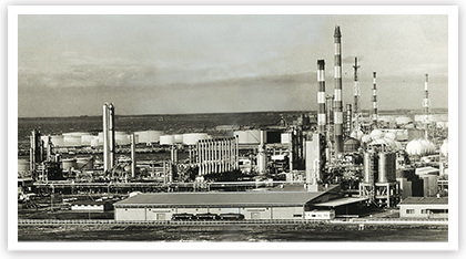 New works in Chiba Building an ethylene plant with an annual production of 120,000 tons