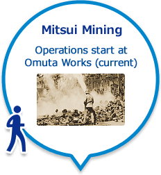 Mitsui Mining Operations start at Omuta Works (current)