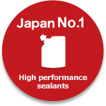 High performance sealants Asia No.1