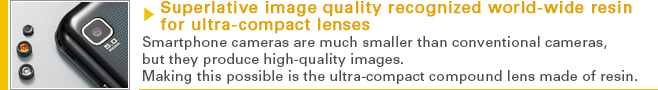 Superlative image quality recognized world-wide
